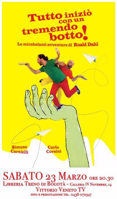 Roald Dahl: tutto iniziò con un tremendo botto!